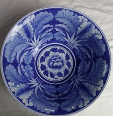 Royal Thai porcelain, blue and white bowl - Thailand - late 20th century