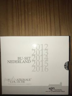 The Netherlands - Year packs 2012/2016 'National Collection' (5 pieces)