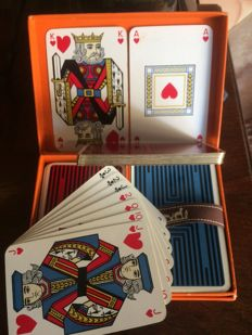 Hermes deck of cards - France - 20th century