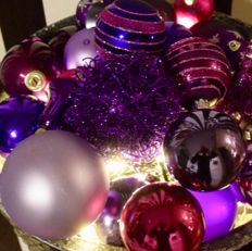 Lot of 74 old and antique Christmas baubles