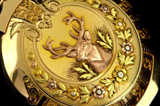 Waltham - 5 Color Gold pocket watch - 男士 - 1850年前