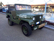 Jeep - Willys M38A1 - 1955