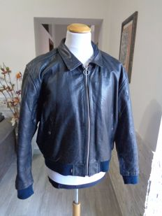 Levi's – leather jacket.