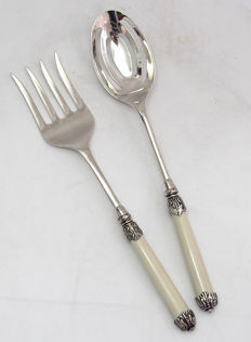 Fine Quality Silver Plated Large Serving Utensils