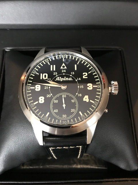 Alpina - MKII Pilot Heritage Mechanical Limited Edition - AL-435LB4SH6 - Heren - 2011-heden