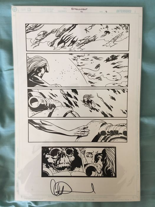 The Establishment #10 - by Charlie Adlard - Page 4 - First edition