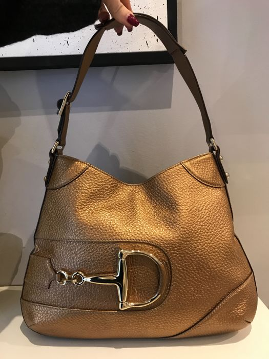 f7c0b6b2a0f855 Gucci - 'Horsebit Hobo Bag' - Catawiki