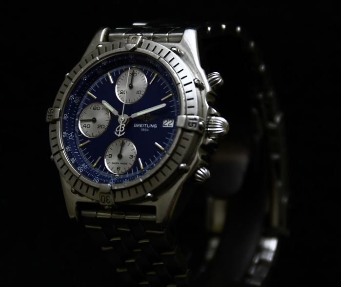 Breitling Chronomat Chronograph - Nautical Blue - A13047