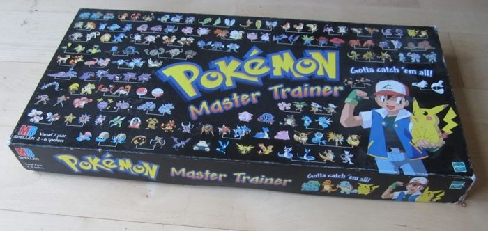 Nintendo - Pokemon master Trainer - 1999