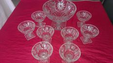 Sublime fruit or champagne service in very good condition 20th century