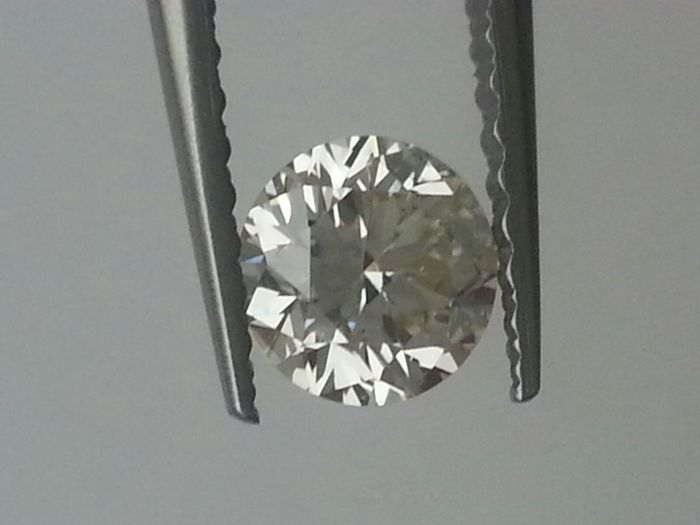 0.45 ct brilliant cut diamond HRD Certificate Colour L Clarity VS2 Brilliant– No shipping costs