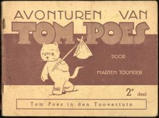 Oliver B. Bumble and Tom Puss - Tom Poes in den toovertuin - 1st edition - Elsevier - softcover - (1942)