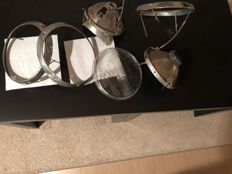 H1 headlight parts for Porsche 911 to be restored