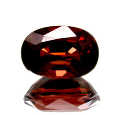 Red garnet - 2.94 ct – No reserve price