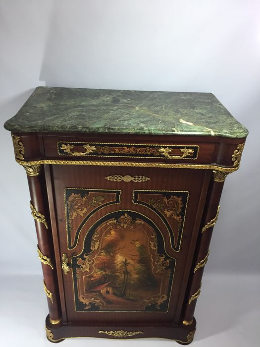 A napoleon iii style meuble d 39 appui of recent manufacture for Meuble style napoleon 3