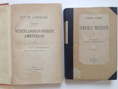 Indonesia; C.C.L. van Coeverden - Uit de loopbaan van een Nederlandsch-Indisch ambtenaar / M. Buys - Two years on Sumatra's West Coast - 1873 / 1886