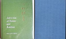 Two books of reference on Japanese swords and fittings - 1902 (copy) / 1919 (reprint).