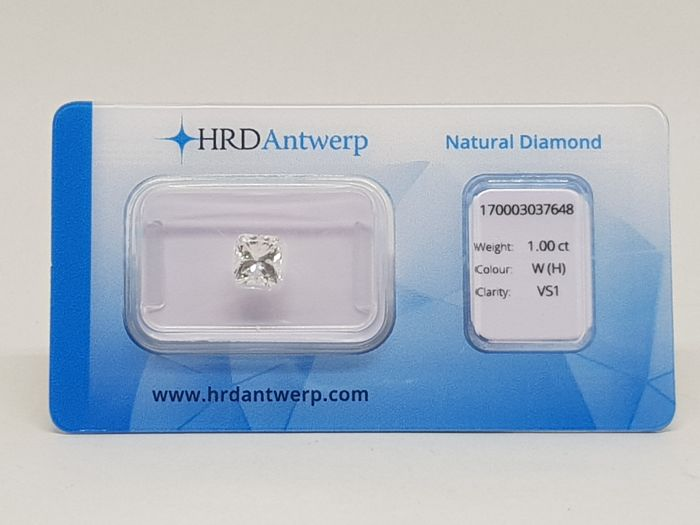1,00 ct. Princess Cut Diamond H VS1