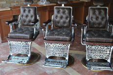 3 Barber´s chairs