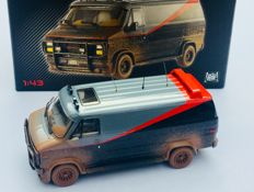 A-Team Van - With mud-Spattered - Iconic Elite HotWheels 1/43 Scale Vehicle - BCT88