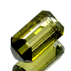 Green tourmaline (verdelite) - 2.13 ct – No reserve price