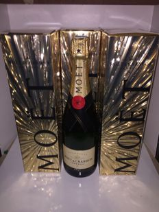 Moet & Chandon Brut Imperial - 6 bottles (75cl) in celebratory boxes