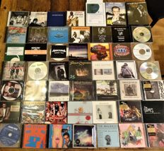 Sublime lot of (Classic-Alternative-Punk-Folk ao-) Rock-Independent-Electronic-Jazz ao CD's in top condition; many promo's Only