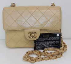 Chanel - Small single flapbag single chain Schoudertas - VIntage
