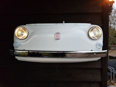 Fiat 500 front - made of Fiat parts - 2016 - with lighting