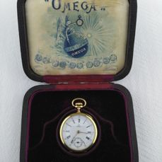 Omega - Grand Prix pocket watch Switzerland- 1900