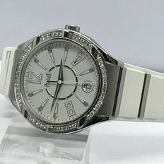 Piaget - Polo Forty Five Lady White Rubber ladies watch - GOA35014 18K white gold  - Women - 2011-present