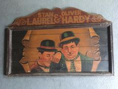 Old Laurel & Hardy Pub Sign