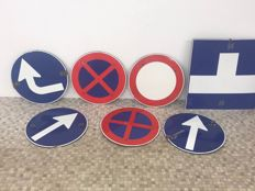Enamel board traffic signs Austria original!