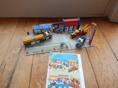 Classic Town - 6393 - Big Rig Truck Stop from 1987