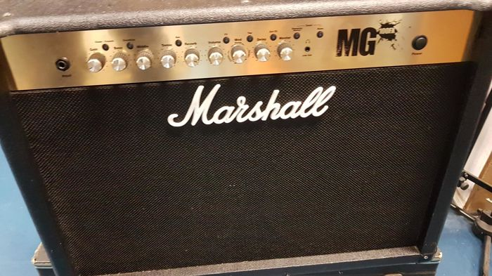 marshall mg100fx 100w 1x12 guitar amplifier combo with effects rh auction catawiki com marshall mg100fx service manual marshall mg 100 fx owner's manual