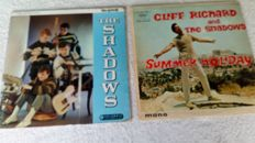 """A very nice lot of 7 lp's and 20 7""""singles and ep's from the 60's and 70's."""