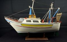 Model vessel (or fishing boat) - Chioggia (Venice)