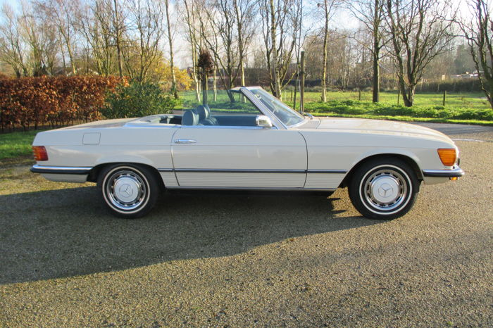 Mercedes-Benz - 350 SL Euro Roadster - 1972