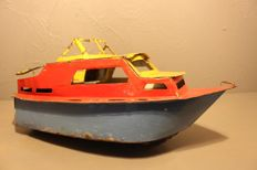 Industrial tin boat