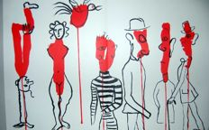Alexander Calder (after) - 4 original lithographs