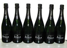Champagne Ayala Brut Majeur - 6 bouteilles (75cl)