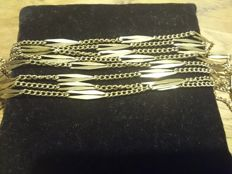 18 kt gold necklace - 153 cm long