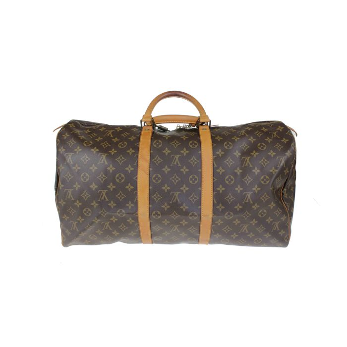 4478363141 Louis Vuitton - Monogram Keepall 55 borsone da viaggio *No Minimum Price*
