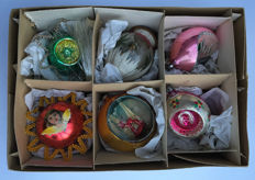 Very rare antique Christmas baubles to put in the tree