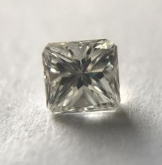 Diamond of 0.33 ct without reserve price I VVS2