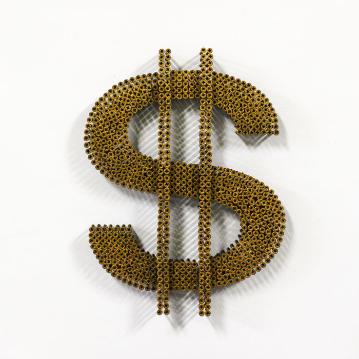 Alessandro Padovan (Screw Art) - DOLLAR GOLD 3D