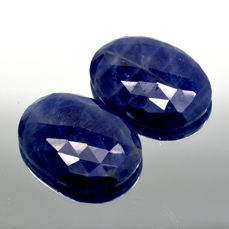 2 sapphires - 29.18 ct – No reserve price