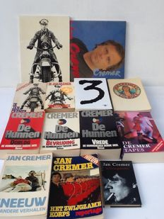 Jan Cremer; Lot with 13 publications - 1964 / 2006