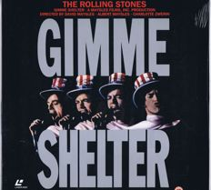 "Rolling Stones - 12"" Laser Disc: Gimme Shelter (Polygram 086500-1 
