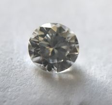 Diamond of 0.31 ct without reserve price G SI1